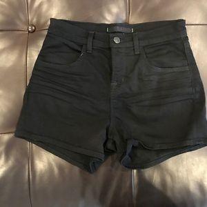 J Brand Dita black jean shorts, size 26